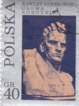 Stamps Poland -  Busto