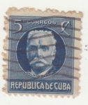 Stamps : America : Cuba :  Calixto García