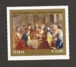 Sellos de Europa - Italia -  XXV Congreso Eucarístico Nacional