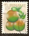 Stamps America - Suriname -  Naranjas.