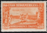 Stamps Spain -  ESPAÑA 582 PRO UNION IBEROAMERICANA