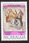 Stamps Nicaragua -  500 Aniversario de Michelangelo