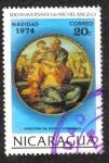 Sellos de America - Nicaragua -  500 Aniversario de Michelangelo
