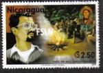 Sellos de America - Nicaragua -  CMTE. Carlos Fonseca