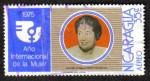 Stamps Nicaragua -  1975 año Internacional de La Mujer