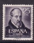 Stamps Spain -  IV  cent. del nacimiento de luis de gongora