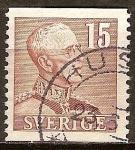 Sellos del Mundo : Europa : Suecia : El rey Gustavo V.