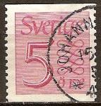 Sellos del Mundo : Europa : Suecia : Nuevo tipo Numeral.