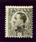 Stamps Europe - Spain -  Alfonso XIII. Tipo Vaquer de Perfil