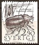 Sellos del Mundo : Europa : Suecia : Cuero escarabajo (