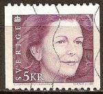 Sellos del Mundo : Europa : Suecia : Reina Silvia.