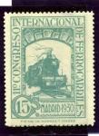 Sellos de Europa - España -  XI Congreso Internacional de Ferrocarriles