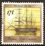 Stamps Oceania - Papua New Guinea -  Buques HMS