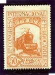 Sellos del Mundo : Europa : España :  XI Congreso Internacional de Ferrocarriles