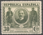 Stamps Spain -  ESPAÑA 608 III CONGRESO DE LA UNION POSTAL PANAMERICANA