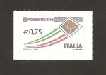 Sellos de Europa - Italia -  Sobre