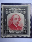 Stamps of the world : Colombia :  Comisión Corográfica, Don Manuel Ancizar-1850-1950