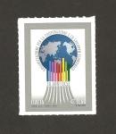 Stamps Italy -  50 Aniv de la Organización  para la cooperación y el desarrollo