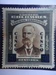 Stamps of the world : Colombia :  Comisión Corográfica, Don Manuel Ponce de León-1850-1950