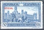Stamps Spain -  ESPAÑA 633 III CONGRESO DE LA UNION POSTAL PANAMERICANA. OFICIAL