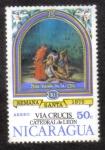 Sellos de America - Nicaragua -  Semana Santa 1975