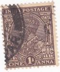 Sellos de Asia - India -  George V