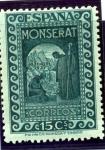 Sellos de Europa - España -  IX Centenario de la Fundación del Monasterio de Montserrat