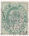 Stamps India -  Edouard VII
