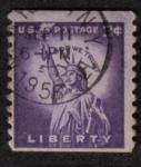 Sellos de America - Estados Unidos -  Liberty