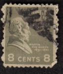 Stamps United States -  Martin Van Buren