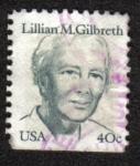 Sellos de America - Estados Unidos -  Lillian M. Gilbreth