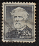 Stamps United States -  Robert E. Lee