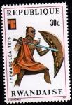 Sellos de Africa - Rwanda -  THEMABELGA 1975
