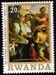 Stamps of the world : Rwanda :  PIERRE PAUL RUBENS (1577-1640)