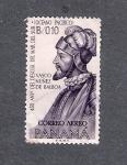 Stamps : America : Panama :  450 aniversario del descubrimiento del mar del Sur (Océano Pacífico)