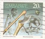 Sellos de Africa - Zimbabwe -  Herramientas de trabajo