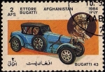 Stamps Asia - Afghanistan -  BUGATTI 43