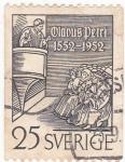 Sellos de Europa - Suecia -  Religión- Olavus Petri 1552-1952