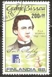 Stamps Guinea Bissau -  CAMPEÒN  DE  AJEDREZ.   PAUL  MORPHY