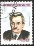 Stamps Benin -  CAMPEÒN  DE  AJEDREZ    EMANUEL  LASKER