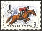 Sellos de Europa - Hungría -  COMPETENCIA   ECUESTRE