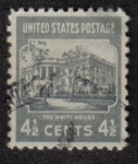 Stamps United States -  The White House