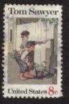 Stamps United States -  Tom Sawyer