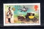 Sellos de America - Antigua y Barbuda -  Centenario de la Unión postal Universal