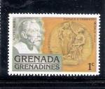 Stamps Grenada -  Premio Nobel