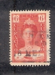 Stamps : America : Curaçao :  30 aniversario del reinado de la Reina Guillermina