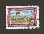 Stamps Afghanistan -  Día mundial del turismo