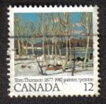 Sellos del Mundo : America : Canadá : Tom Thomso 1877-1917 Pintor