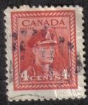 Sellos del Mundo : America : Canadá : King George VI