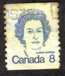 Stamps Canada -  Isabel II